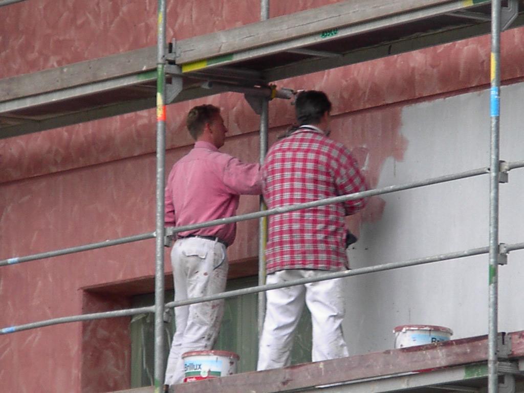 Fassadengestaltung Malerwerkstatt Noot In Herne